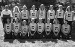 1999-2000 Women's Cross Country Team