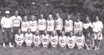 2001 Women's Cross Country Team by Cedarville University