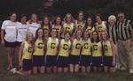 2004-2005 Women's Cross Country Team