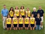 2009 Women's Cross Country Team by Cedarville University