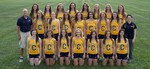 2014-2015 Women's Cross Country Team