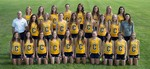 2015-2016 Women's Cross Country Team