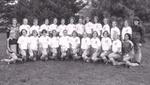 1996 Women's Soccer Team by Cedarville College