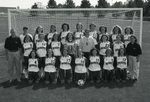 1998-1999 Women's Soccer Team by Cedarville College