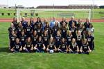 2013-2014 Women's Soccer Team by Cedarville University