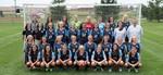 2016-2017 Women's Soccer Team by Cedarville University