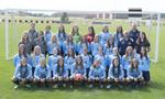 2017-2018 Women's Soccer Team by Cedarville University