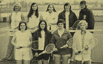 1974-1975 Women's Tennis Team by Cedarville College