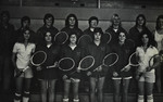 1975-1976 Women's Tennis Team by Cedarville College