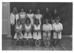 1976-1977 Women's Tennis Team by Cedarville College
