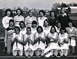 1977-1978 Women's Tennis Team by Cedarville College