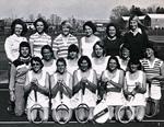 1977-1978 Women's Tennis Team