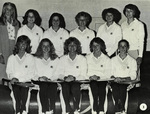 1980-1981 Women's Tennis Team by Cedarville College