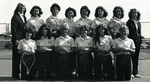 1982-1983 Women's Tennis Team by Cedarville College