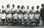 1987-1988 Women's Tennis Team