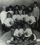 1988-1989 Women's Tennis Team by Cedarville College