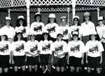 1992-1993 Women's Tennis Team by Cedarville College