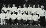 1995-1996 Women's Tennis Team by Cedarville College