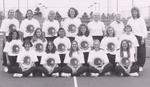 1996-1997 Women's Tennis Team by Cedarville College