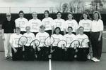 1997-1998 Women's Tennis Team by Cedarville College