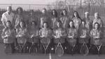2001-2002 Women's Tennis Team by Cedarville University