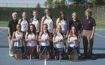 2010-2011 Women's Tennis Team