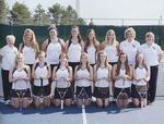 2012-2013 Women's Tennis Team