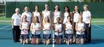 2014-2015 Women's Tennis Team