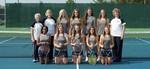 2015-2016 Women's Tennis Team