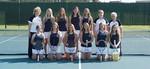 2016-2017 Women's Tennis Team