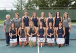 2017-2018 Women's Tennis Team