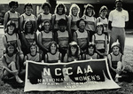 1984-1985 Women's Track and Field Team by Cedarville College