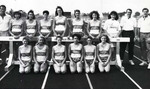 1991-1992 Women's Track and Field Team