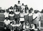 1992-1993 Women's Track and Field Team