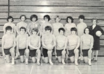 1966 Volleyball Team by Cedarville College