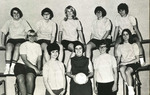 1967 Volleyball Team by Cedarville College