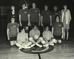 1970 Volleyball Team by Cedarville College