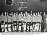 1971-1972 Women's Volleyball Team