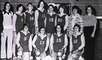 1977-1978 Women's Volleyball Team