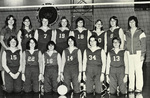 1978-1979 Women's Volleyball Team