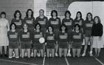1982-1983 Women's Volleyball Team