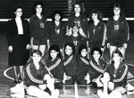 1986-1987 Women's Volleyball Team
