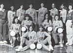 1985-1986 Women's Volleyball Team