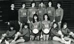 1987-1988 Women's Volleyball Team