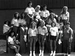 1989-1990 Women's Volleyball Team