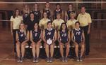 2004-2005 Women's Volleyball Team