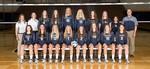 2016-2017 Women's Volleyball Team