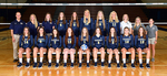 2017-2018 Women's Volleyball Team by Cedarville University