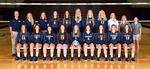 2017-2018 Women's Volleyball Team