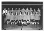 1972 Volleyball Team by Cedarville College